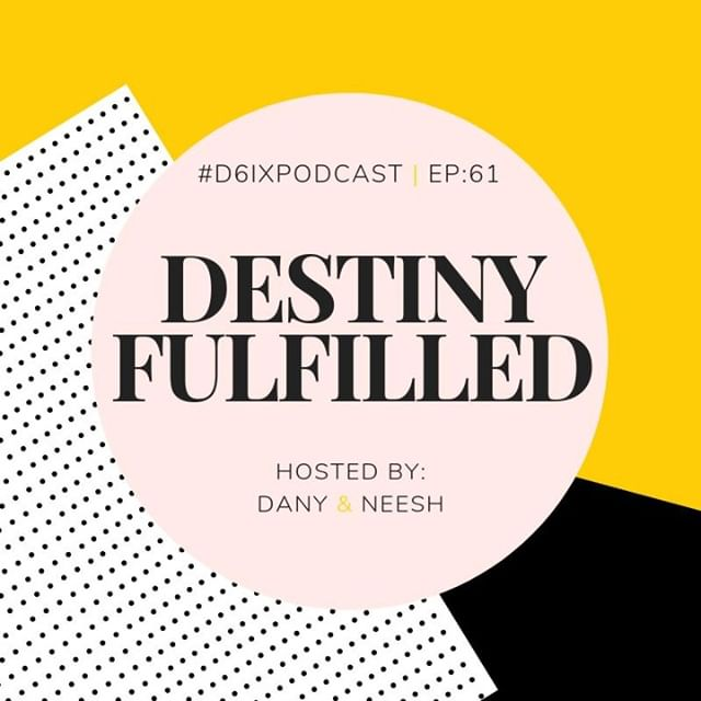 Hey friends! 💃🏽 . We're back with another episode of the #D6IXPodcast. On this week's episode, we'll chat about: . 1) Popular Unpopular Opinions: You know those opinions that seem to be very popular, but people sometimes rarely actually align their actions with them? We'll chat through some of those + share our thoughts & experiences. . 2) Creating a healthy social media experience: Social media platforms like Instagram and Twitter can be a toxic place. They can cause a different kind of OCD (Obsessive Comparison Disorder) and push us into dark places. We'll share some of our tips to ensure we're maintaining a healthy relationship with these platforms. . 3) Inspiration + we have a bittersweet announcement for you. 👀👀 Hint: The episode title is directly related. . This is an episode you really don't want to miss. Tune in now! Link in bio. . + Follow Dany & Neesh on their personal Instagram accounts here: @danicasnelson & @thisisneesh 👯
