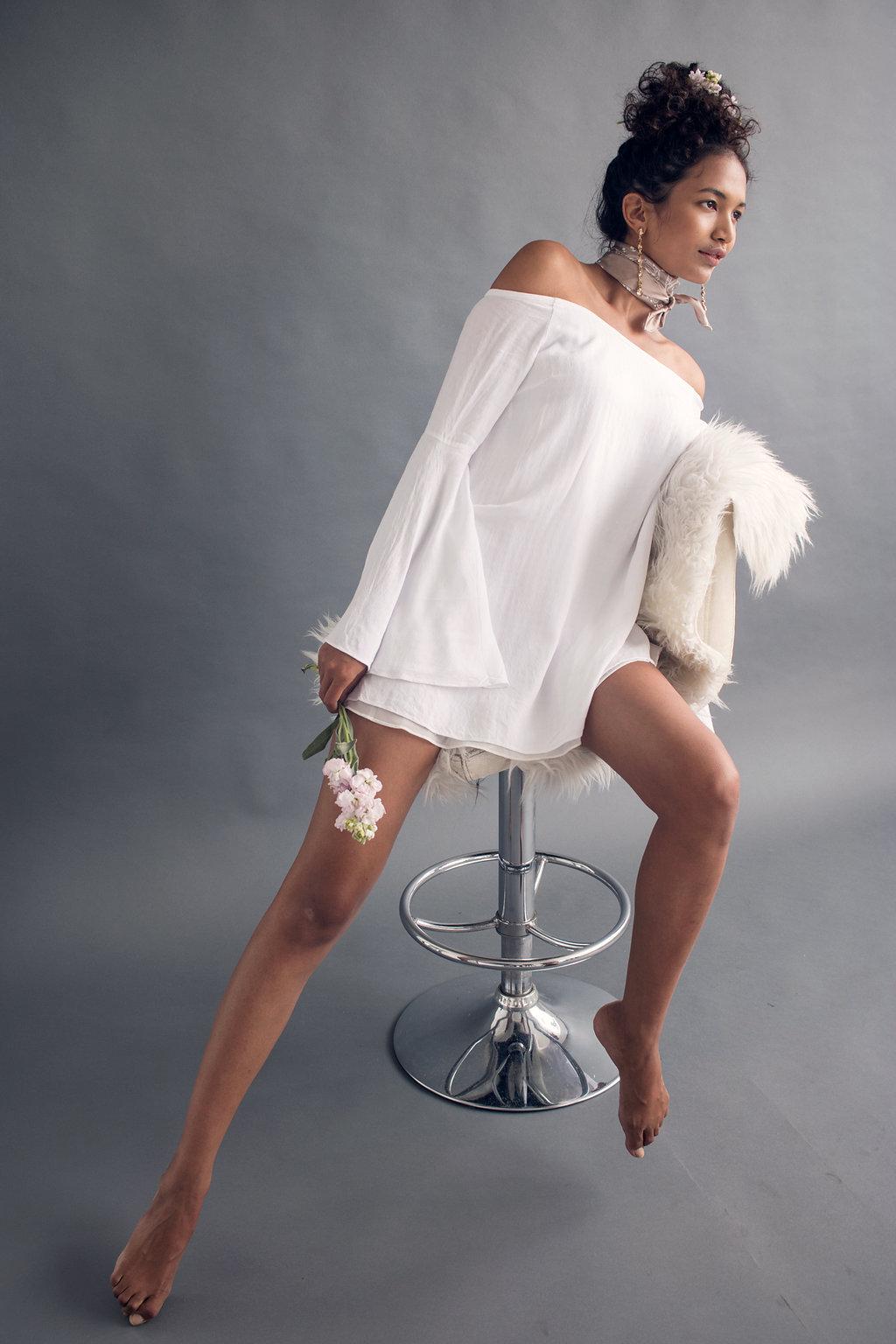- Photographer: Vince PatrickModel: Kristina Menissov [Aston Models]Stylist & Props: Cassidy Bliss Cooper