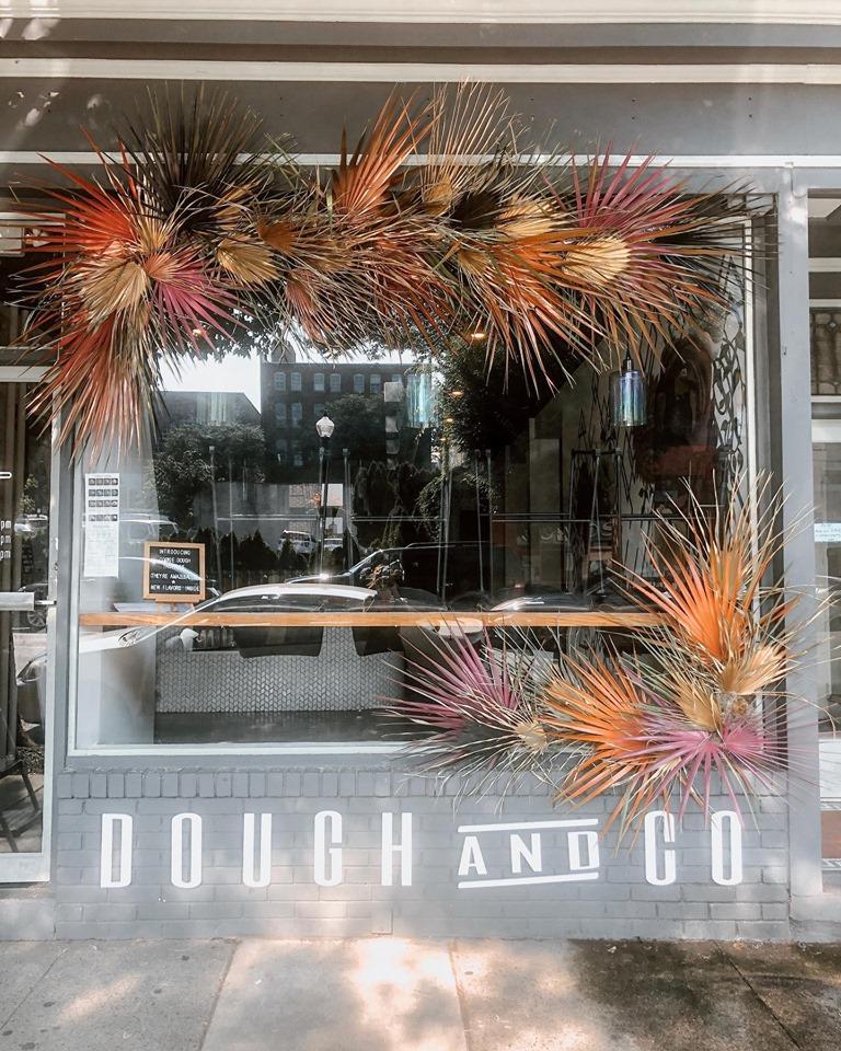 Dough and Co. Shoppe Window Installment 7/2019 -