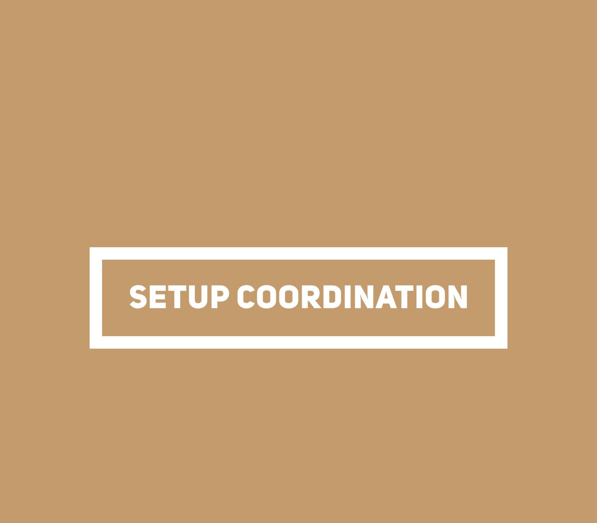 Let's get the party started - This is a bundle of the preliminary coordination, the planning coordination, and also includes setup of the actual wedding day! This covers design coordination and set up until 2 hours before your wedding!Investment: $650