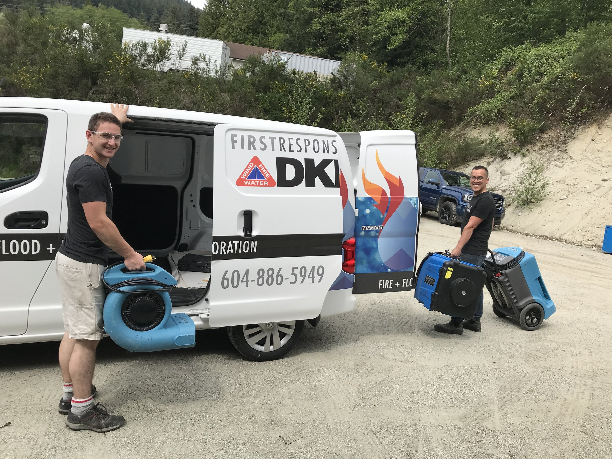 Wind. Fire. Water. DKI Canada has us, and our customers, covered. - May 16, 2018You've probably noticed the DKI triangle on the First Response logo, trucks and anywhere you see the brand. First Reponses wears the DKI logo proudly but many don't know the background behind the affiliation. Get to know DKI...Read more.