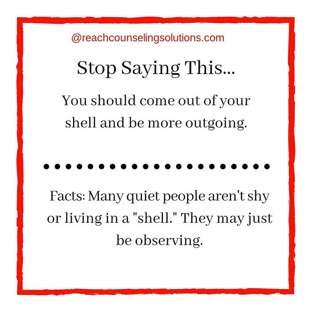 Introversion doesn't always mean shy.