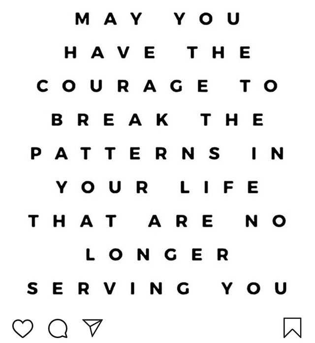 Just because something is a pattern in your life doesn't mean that you can't make shifts in the pattern. Repost: @jokoyewellness