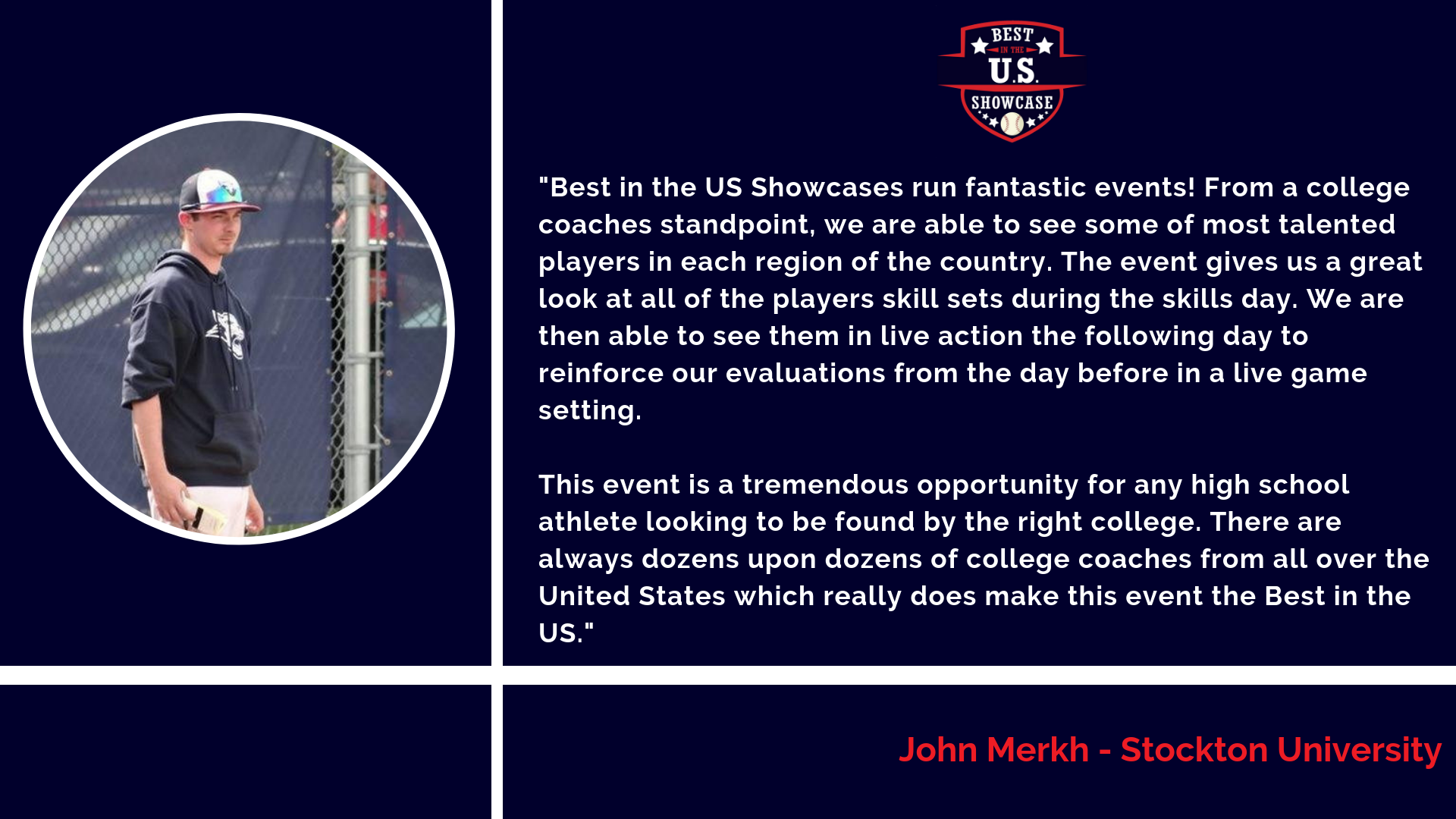 Best in the Northeast Summer Showcase — Best in the US Showcases