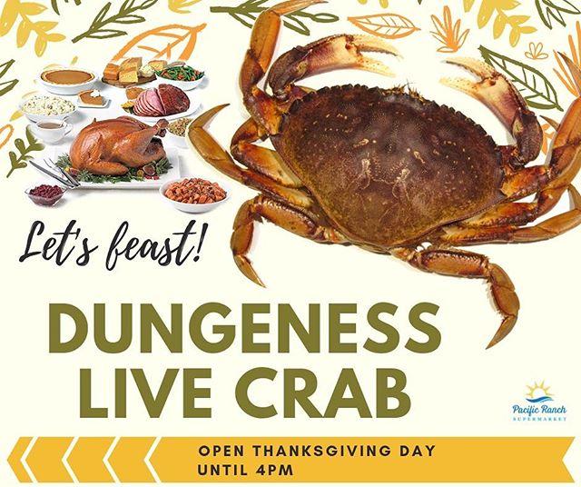 Who needs turkey?  #dungenesscrab #livecrab #happythanksgiving