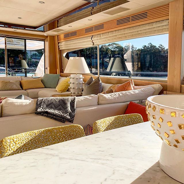 Please let us help you with your vessels interior clean we ensure it will look spotless and perfect every time #interior #cleaning #spotless #perfection #clean #tidy #charterready #yachting #detailing #hostservice