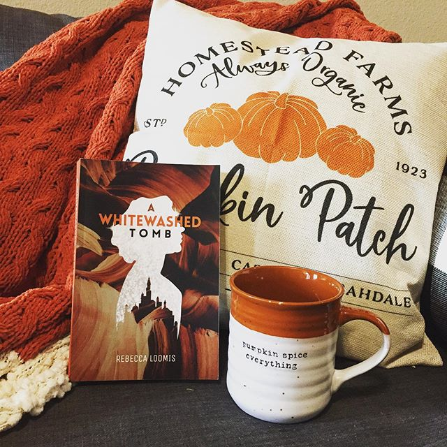 It's that time of year again when everything matches my book! 😋🎃 I can't believe it's already been almost two years since I published A Whitewashed Tomb. — #indiebookawards #dystopian #youngadultbooks #bookworm #writerslife #writersofinstagram #writerscommunity #spilledink #creativewriting #authors #yawriter #bookish #booklove #bookaddict #selfpublished #indieauthor #amwriting #localauthor #amwritingfiction #newadultbooks #yabooks #weekendread #ala #roundrocktx #roundrocklocal #falldecor #pumpkinspiceeverything #pumpkinpillow #muglove #fallreading