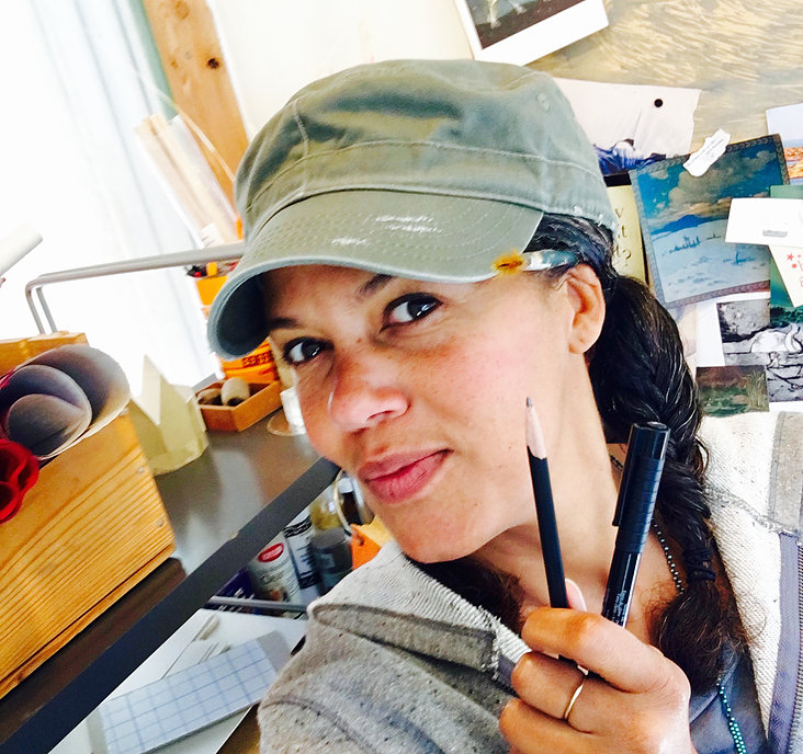 more about tiana - tiana has been writing, illustrating,printing, and binding books since 2010. she is a mama and a farmer.