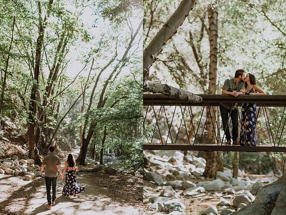 Switzer Falls Engagement Photography
