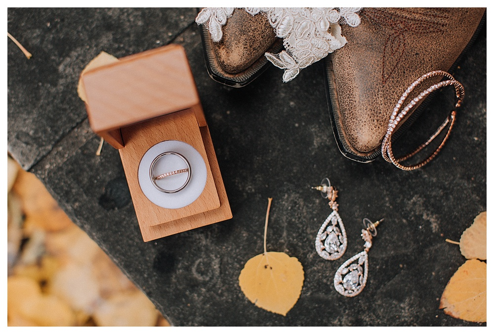 Mountain Wedding Photography in Vail Colorado | Destination Wedding Photographer Los Angeles, Wedding ring shot, bride wedding day details shot