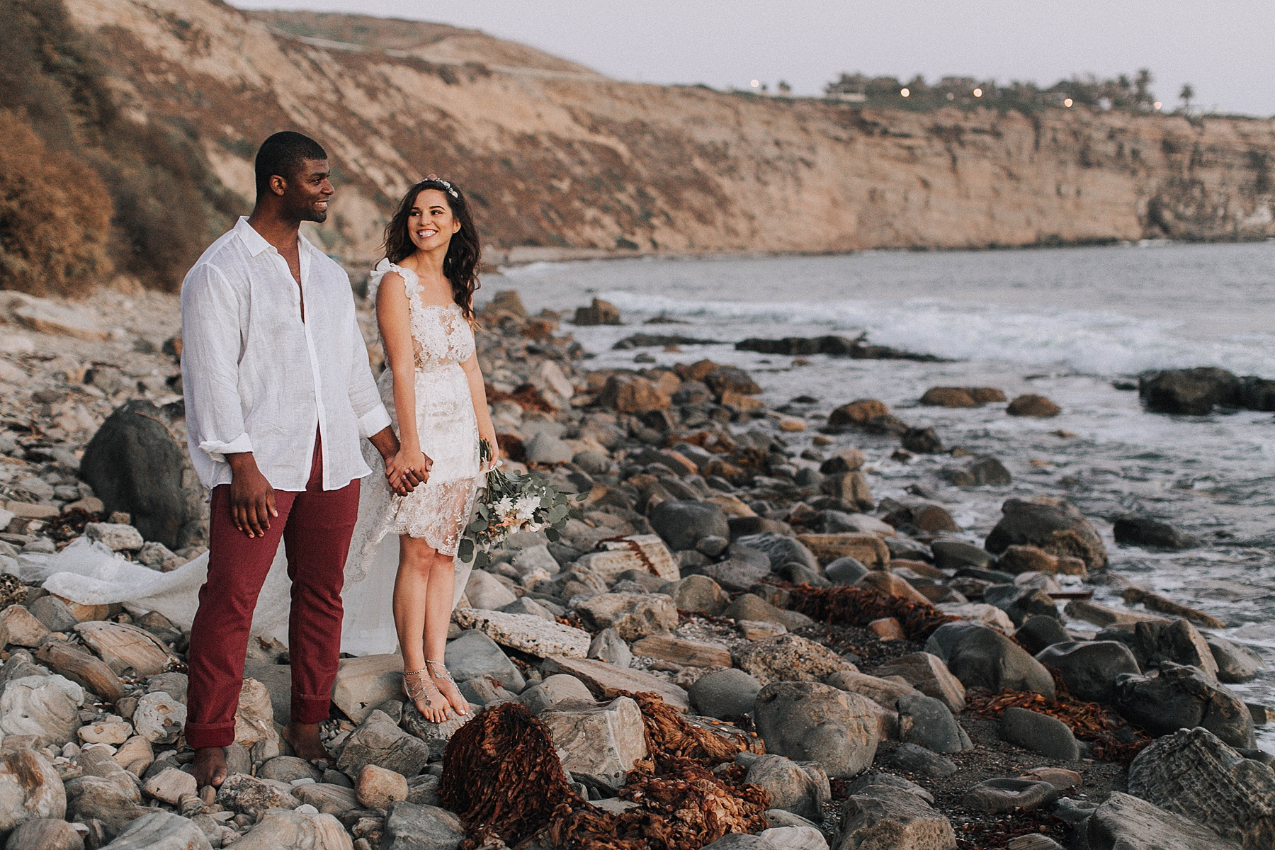 San Pedro Beach Elopement Photography