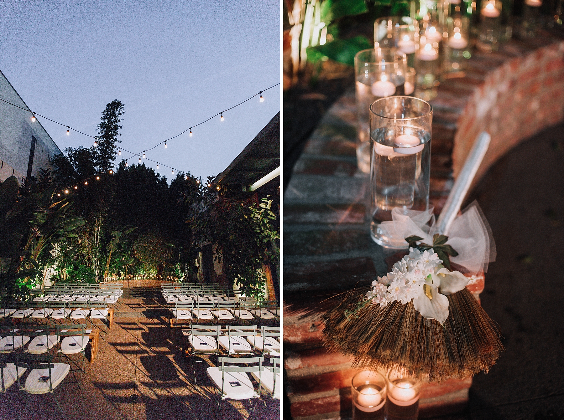 Ceremony Detail Photo, Millwick Downtown Los Angles