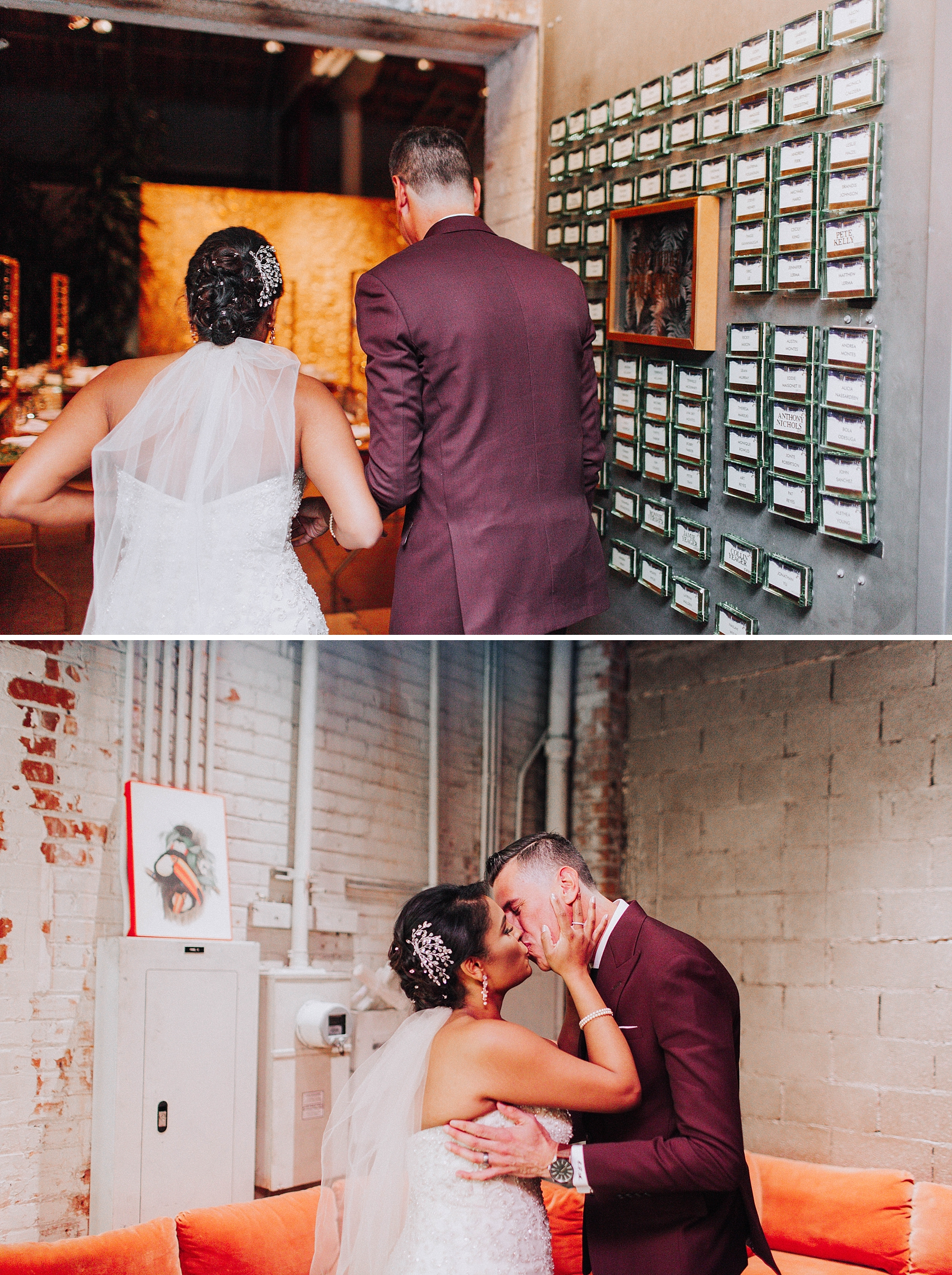 Bride and Groom Portraits, Millwick Downtown Los Angels
