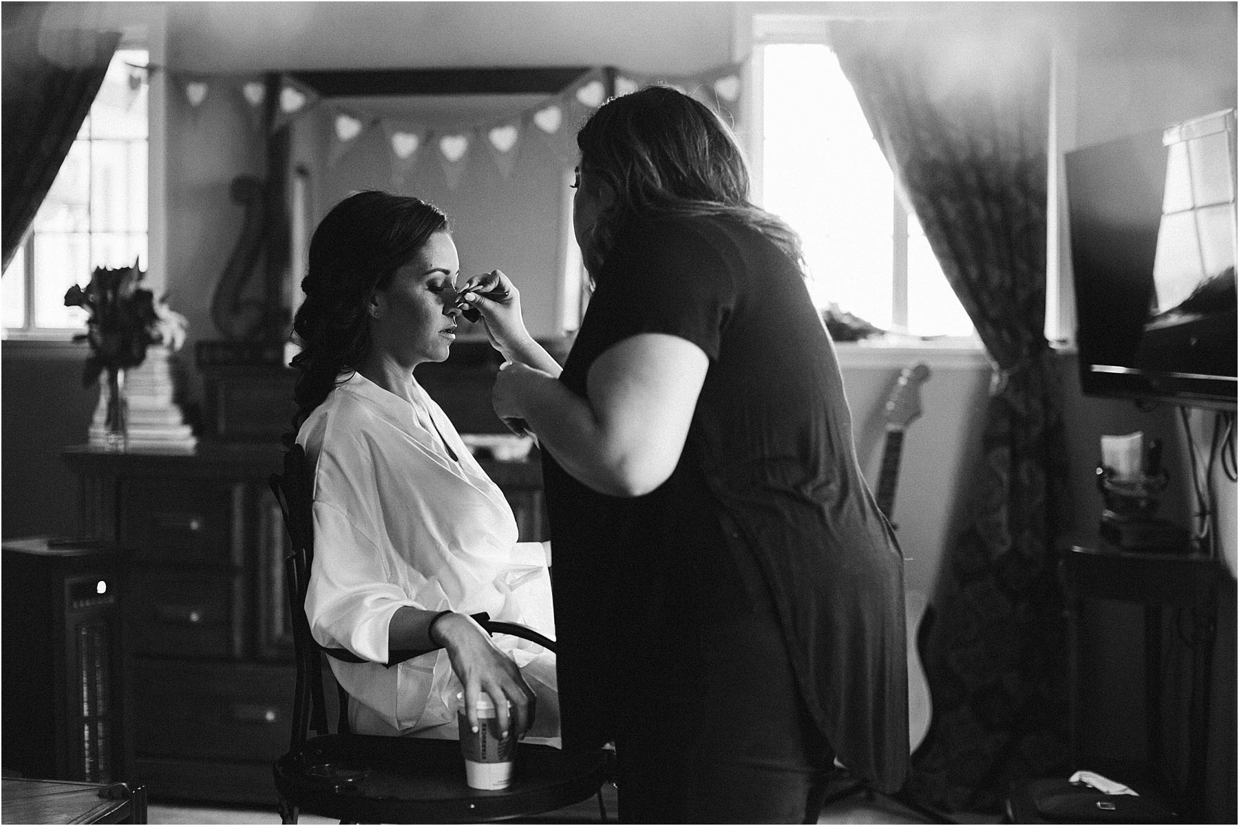 Vasquez Rocks Intimate Wedding & Elopement Photography - Bride Getting Ready