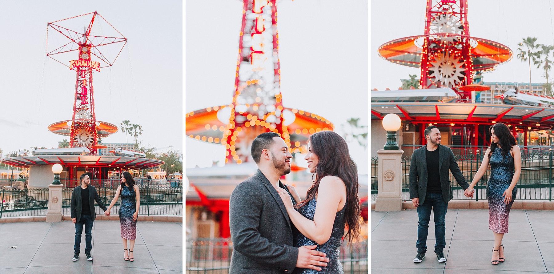 Disneyland Engagement Photo Shoot