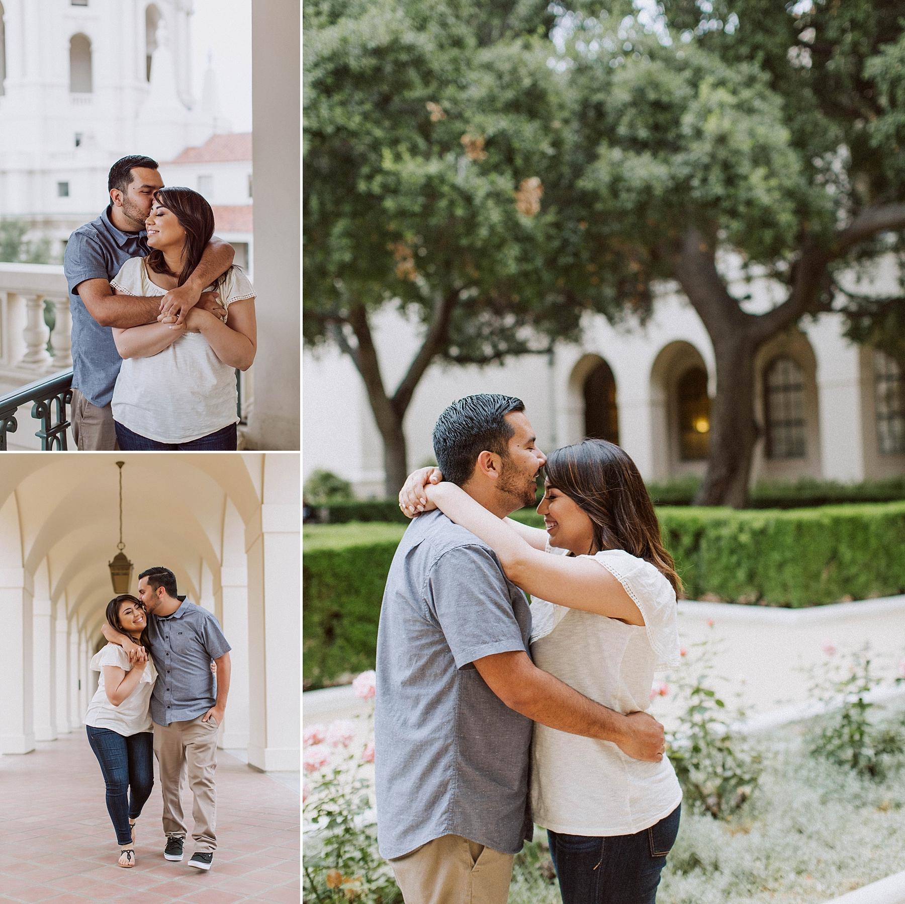 Old Pasadena Engagement Shoot