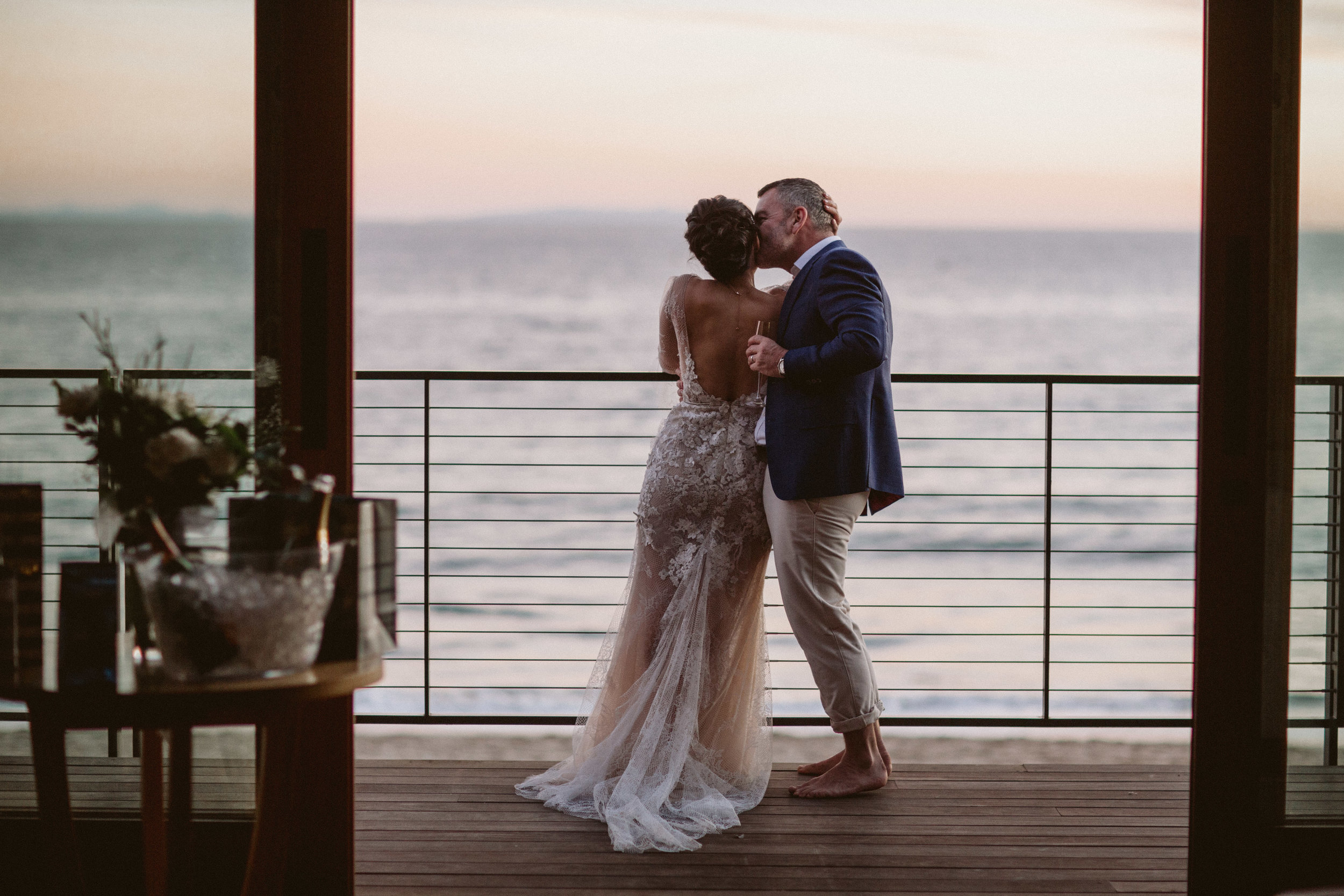 malibu nobu beach elopement photography los angeles ca
