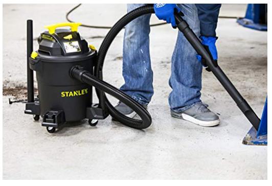 Stanley Wet/Dry Vacuum, 6 Gallon, 4 Horsepower -