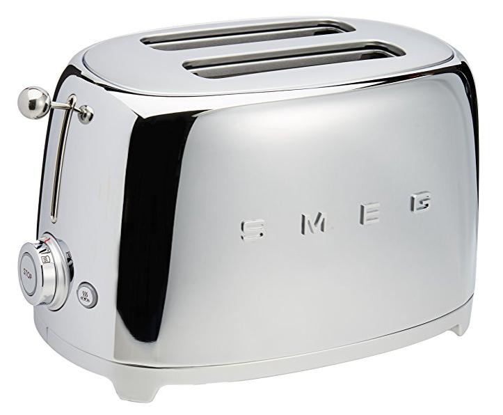 Smeg 2-Slice Toaster-Chrome -