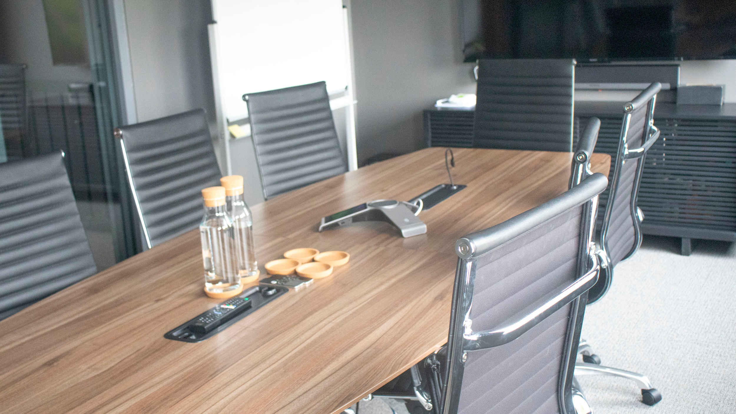 Boardroom - Full access to room and all amenities while the room is booked. Access to help desk and support staff to assist with AV and connectivity.Tea and Coffee with basic snacks servedAccess to bathrooms and kitchen areaLearn More →