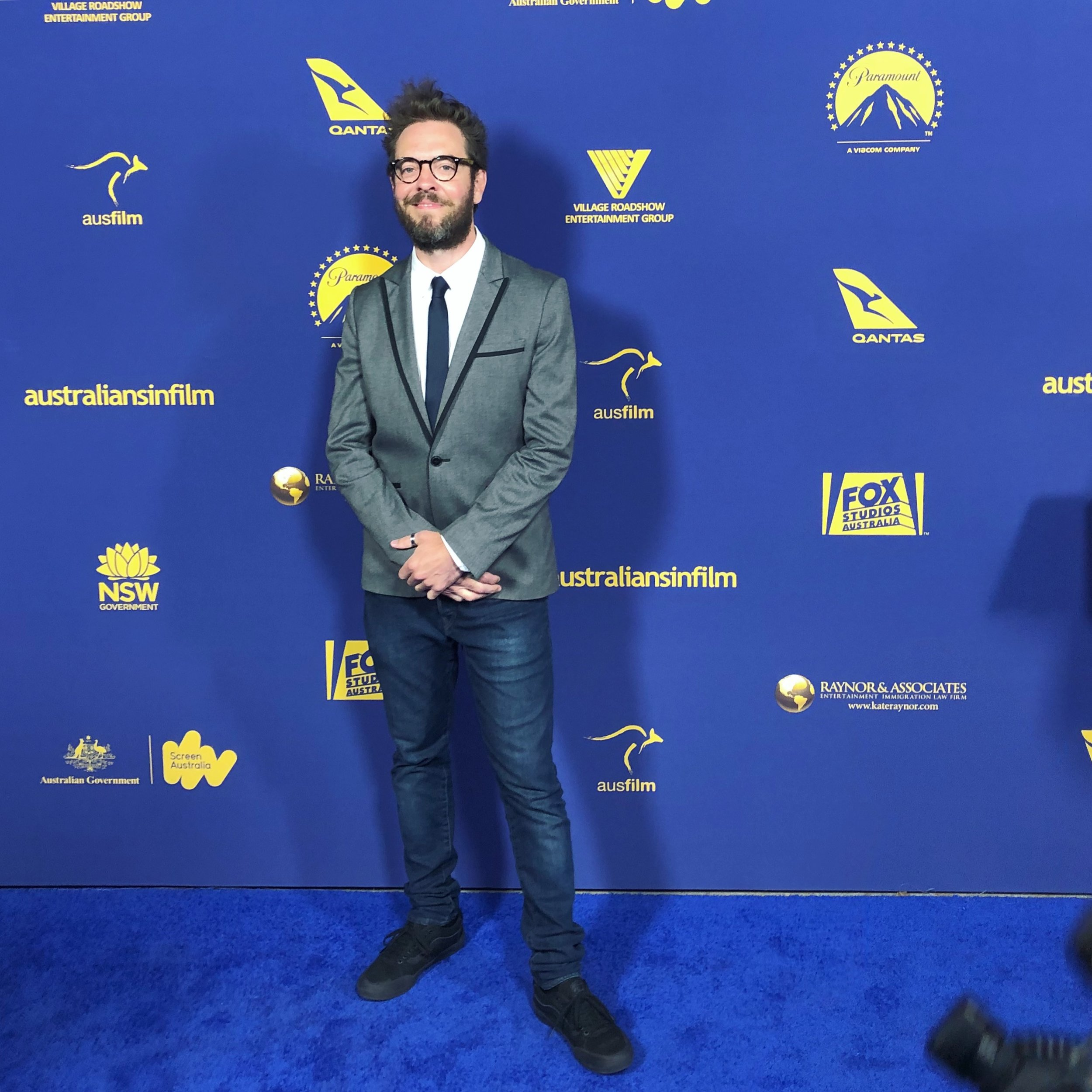 James attends the 2018 - 7th Annual Australians in Film Gala, Paramount Studios, Hollywood, Los Angeles.