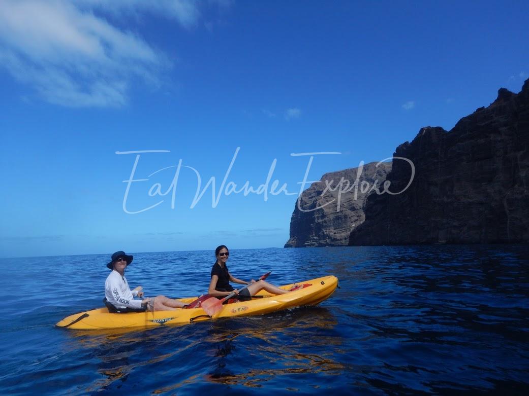 kayak los gigantes travelversary.JPG