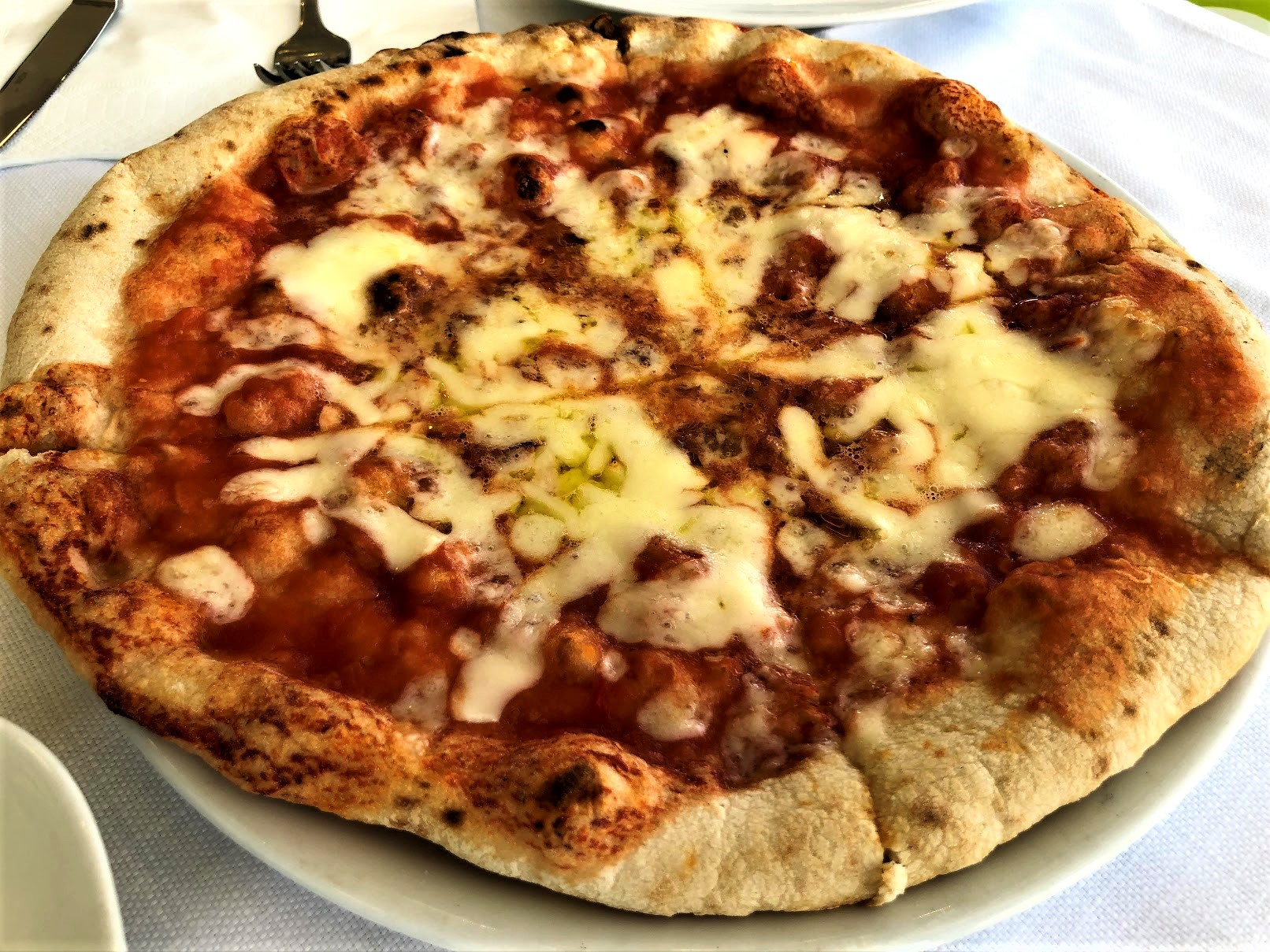 Margherita Pizza from Capri Italy
