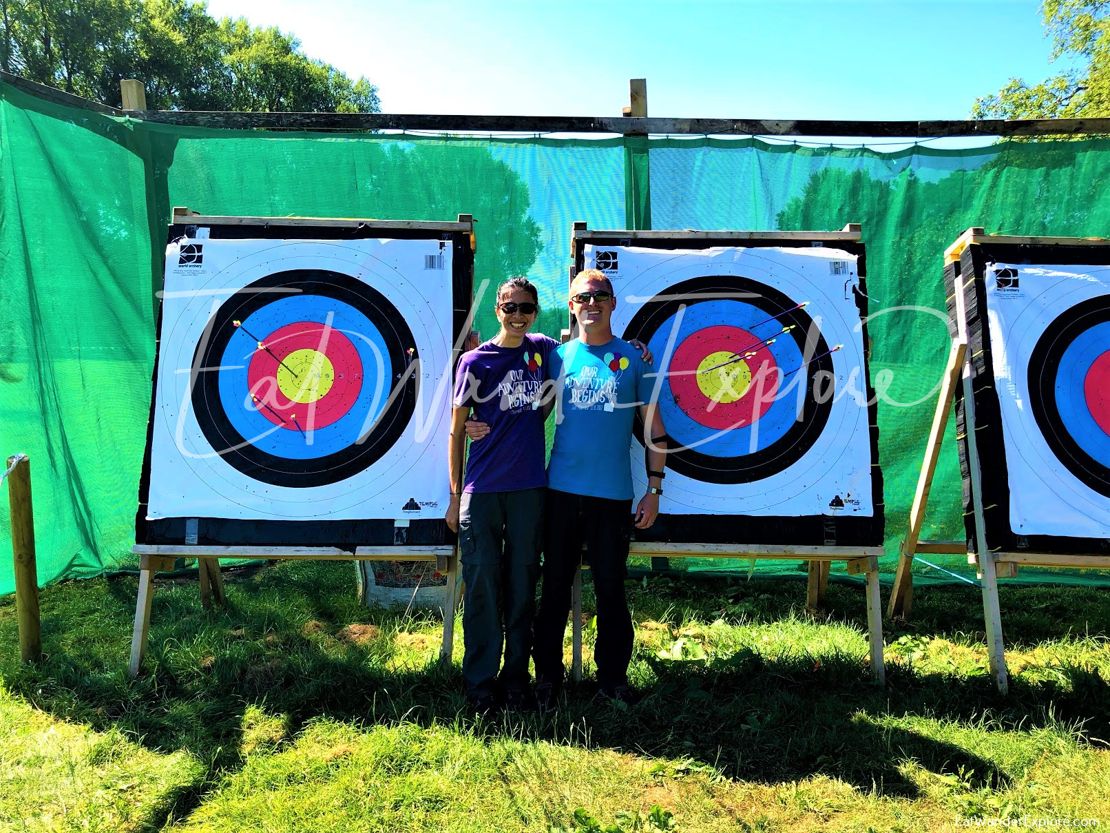 Bow and Arrow targets in Nottingham