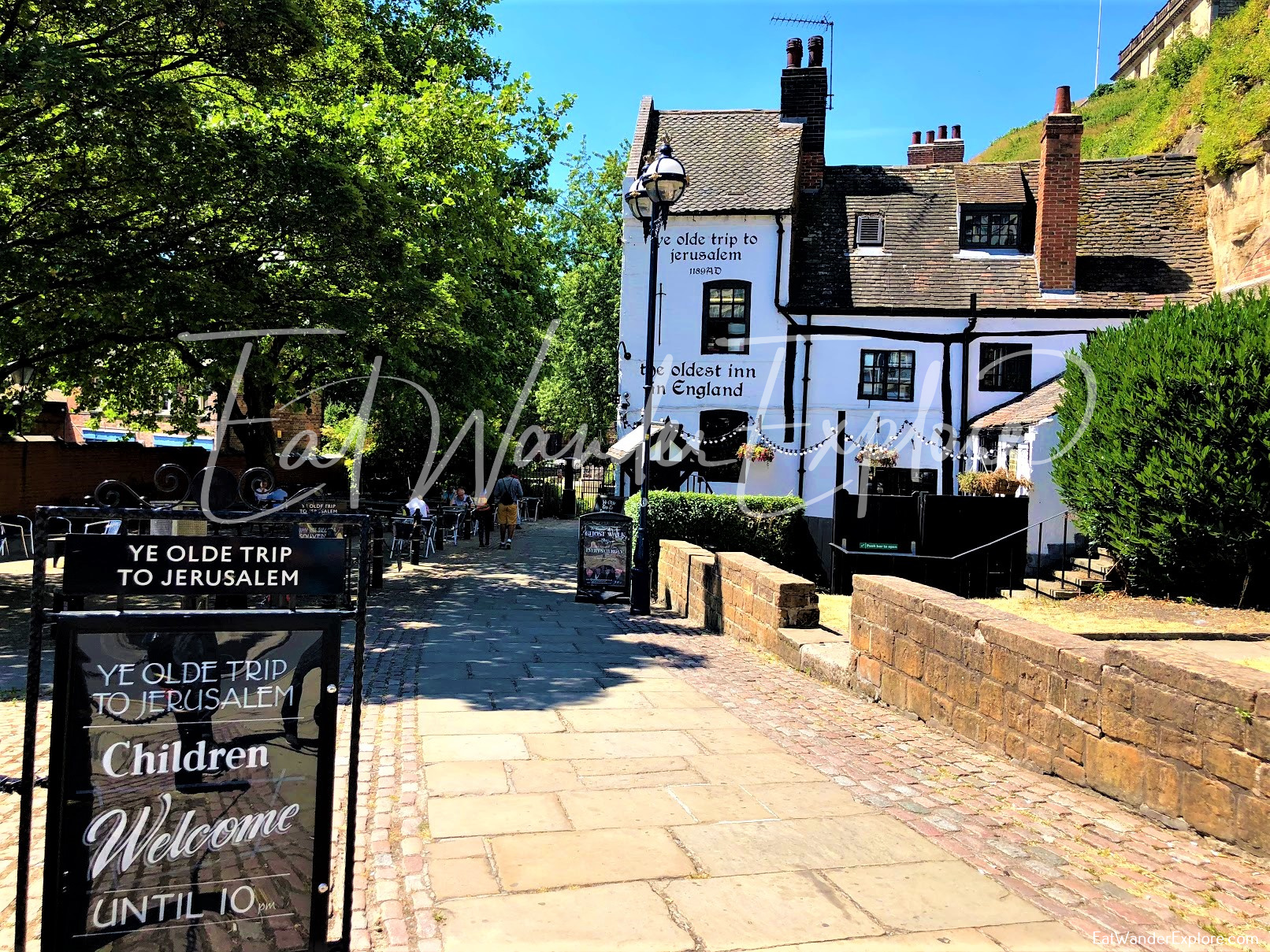 The oldest pub and restaurant in Nottingham
