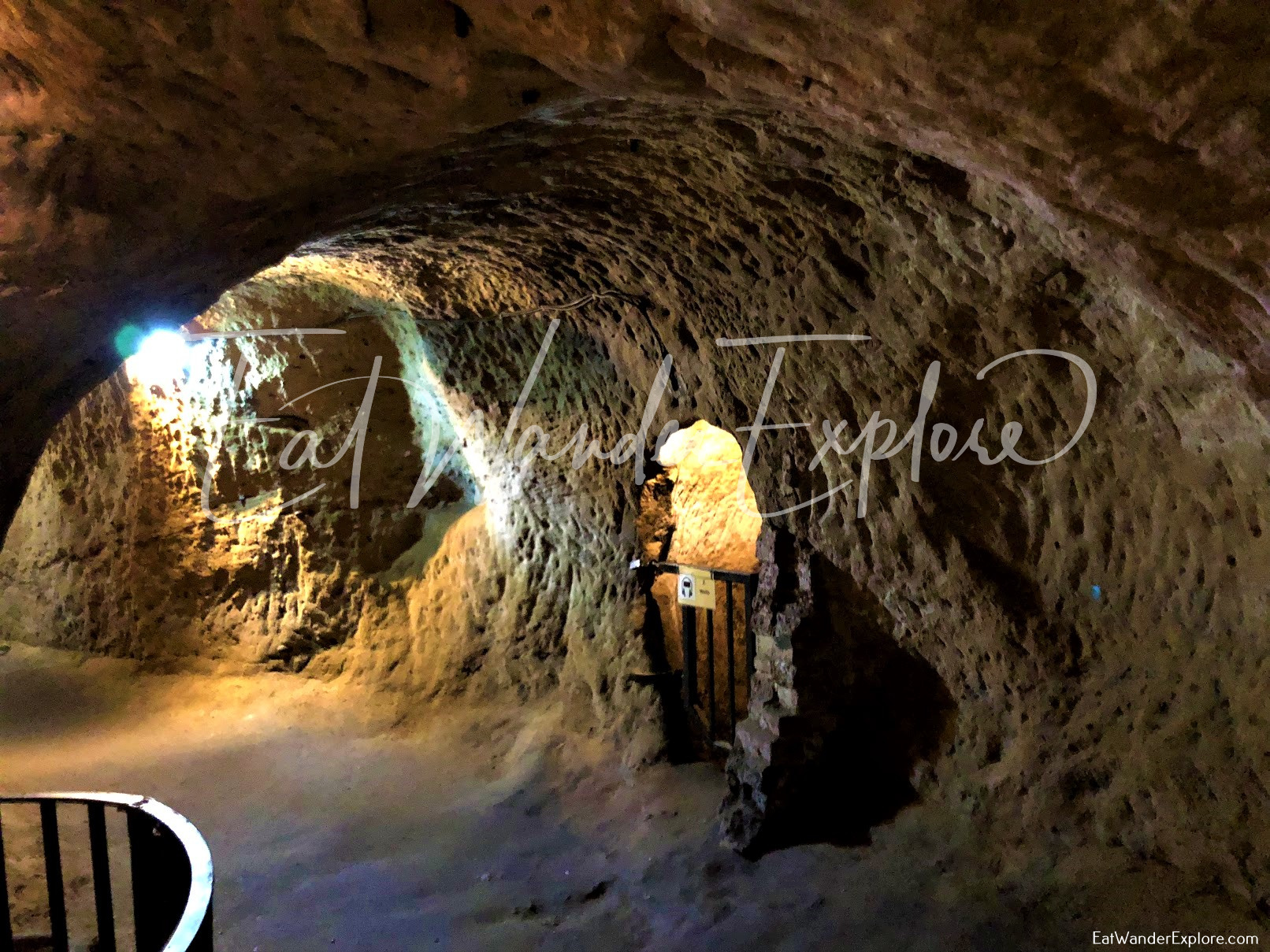 City of Caves in Nottingham tour