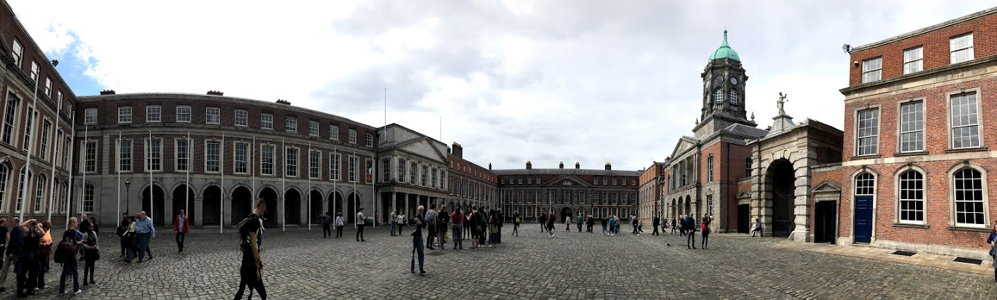 Dublin Castle - Although it doesn't look like what most people imagine as a castle, it does house a throne room.