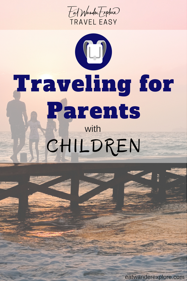 traveling parents with children kids