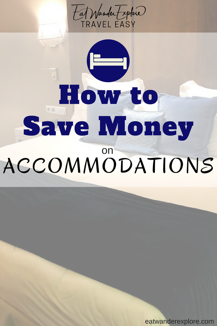 Travel Easy - How to save money on hotels airbnb accommodations hostel vrbo