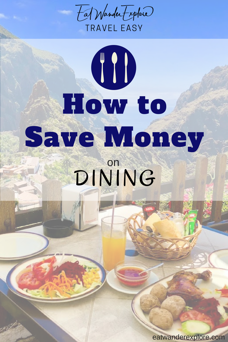 Travel Easy - how to save money on food while traveling