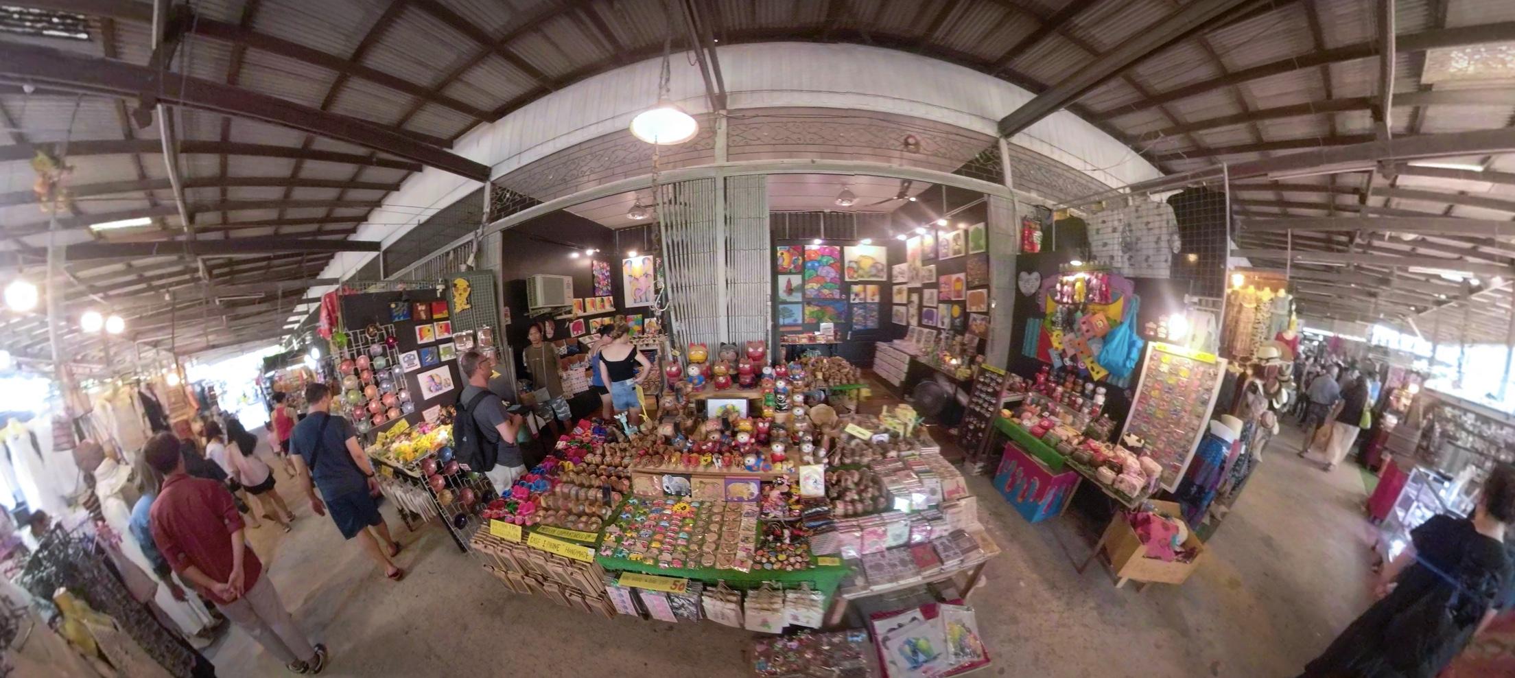 Damnoen Saduak Floating Market goods