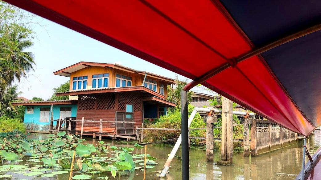 Khlong+Lat+Mayom+Floating+Market+longtail+boat+tour