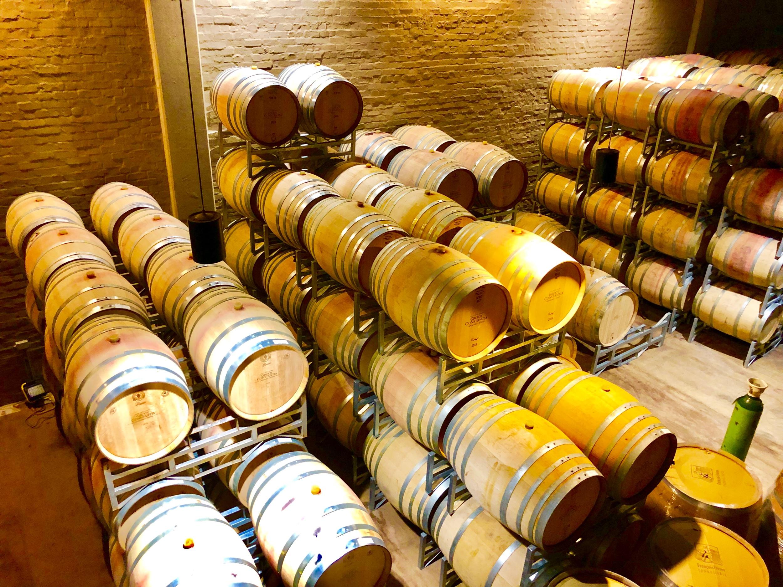 Groot Constantia Wine Barrels