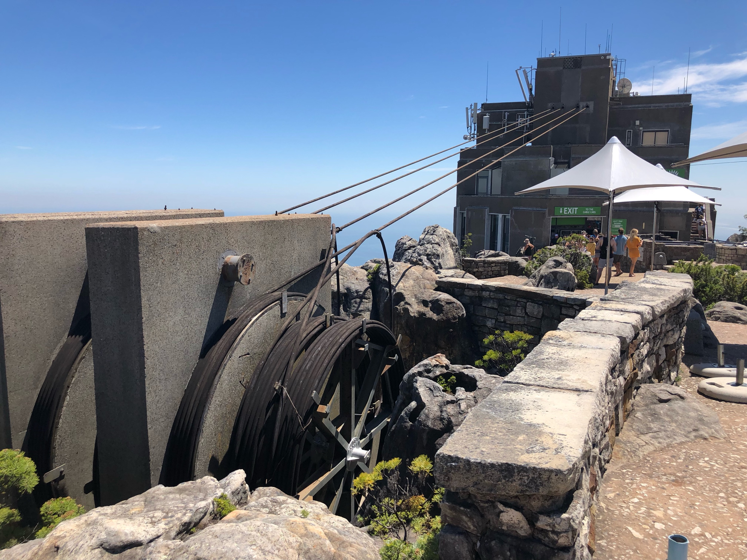 Table Mountain Cable Car pulleys