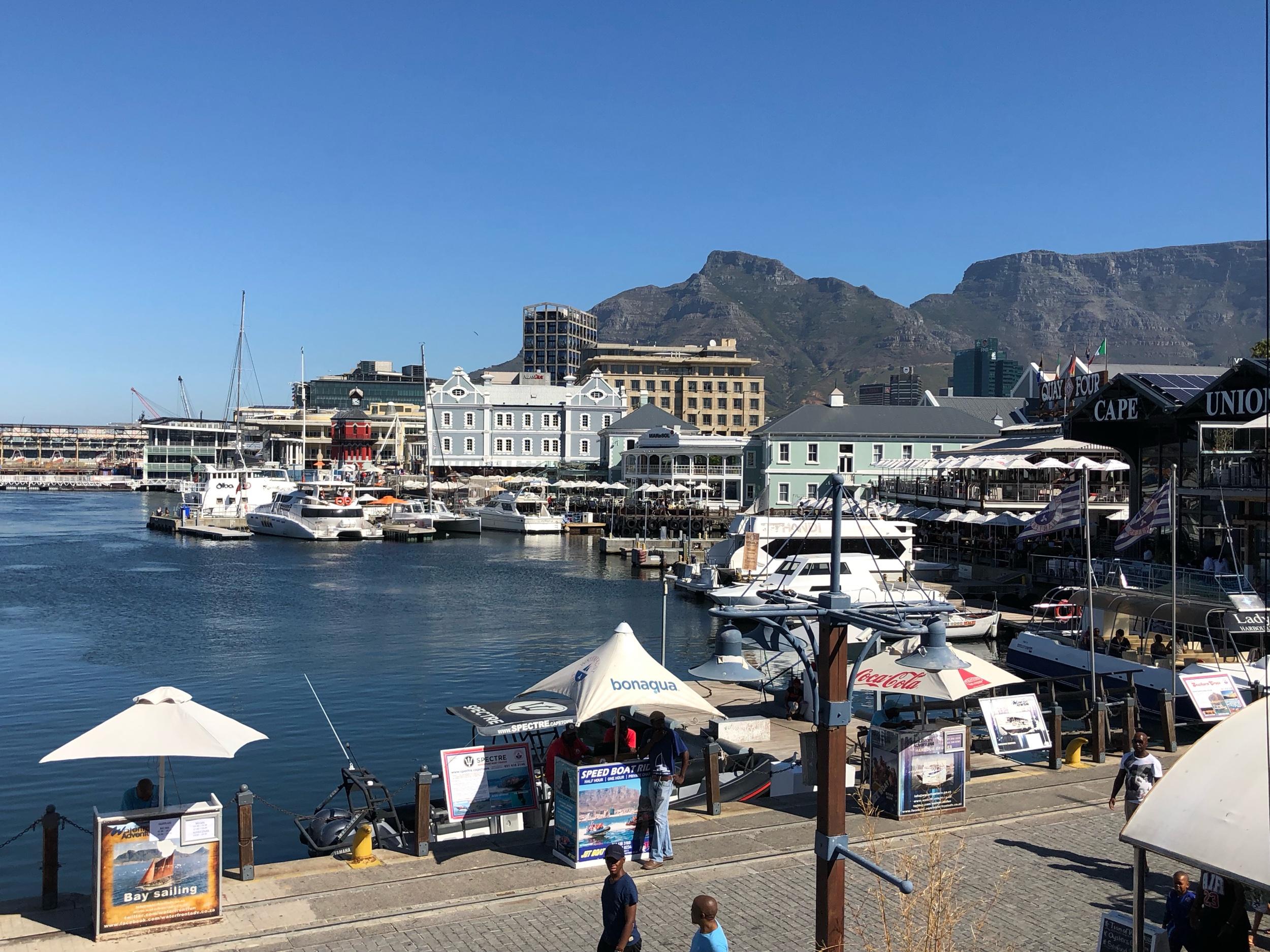 VA Waterfront Harbor Cape Town