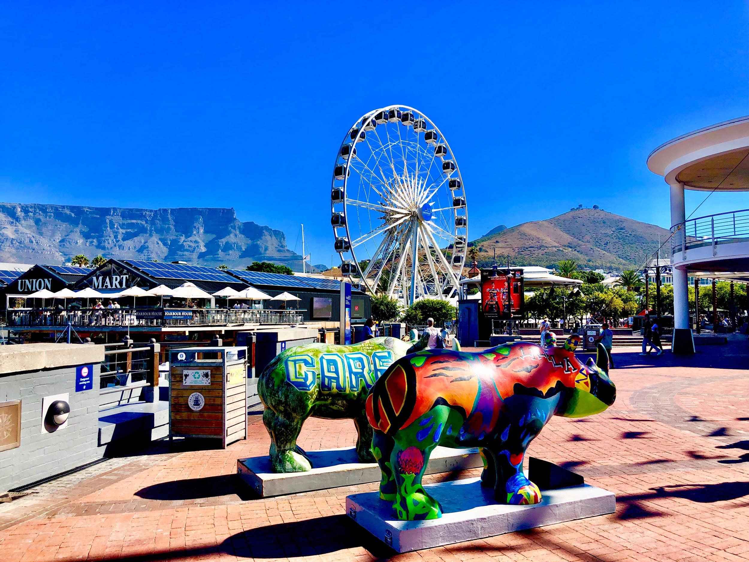 Cape Town VA Waterfront Ferris Wheel Eye