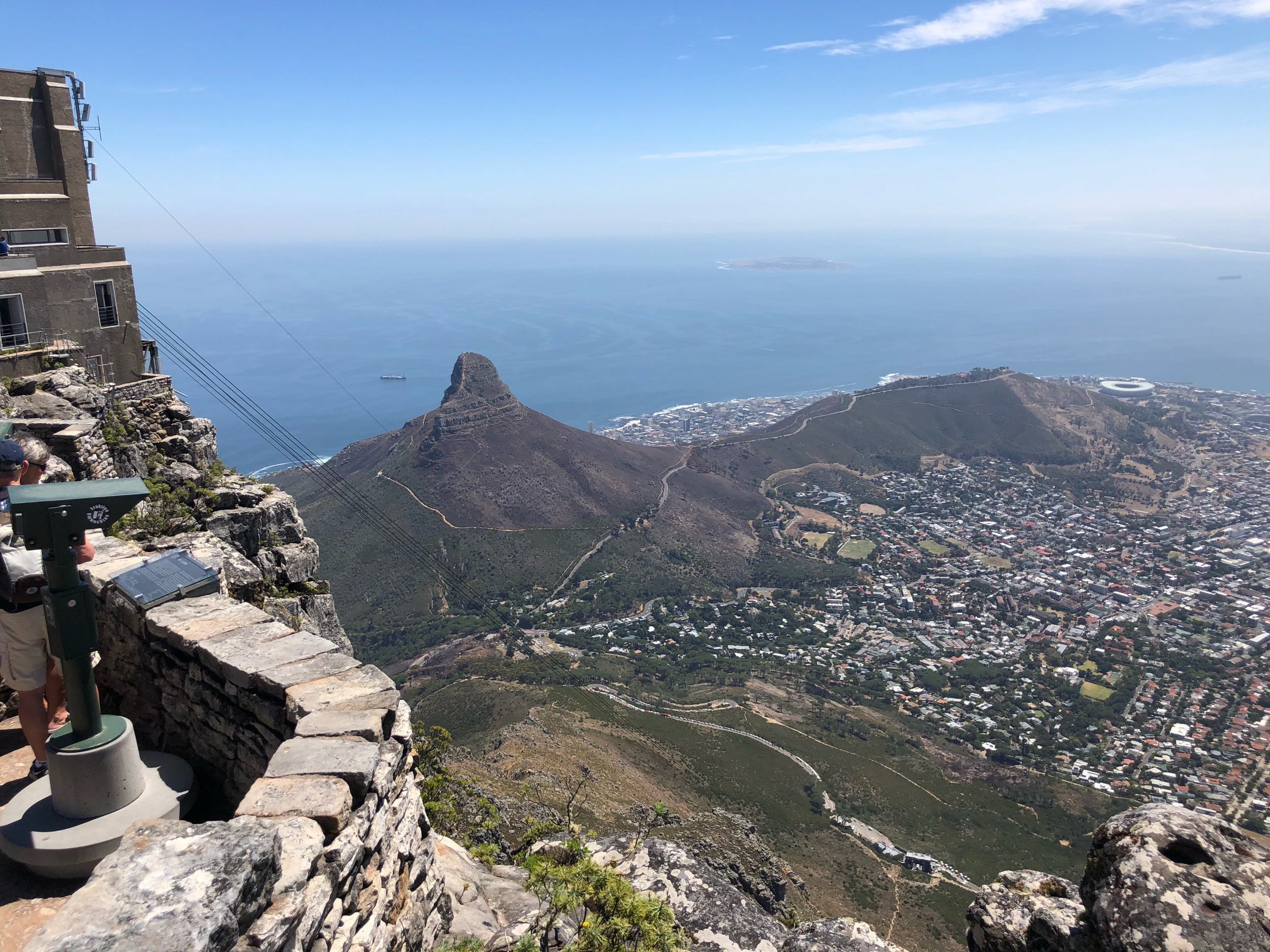 Lion's Head view from Table Mountain