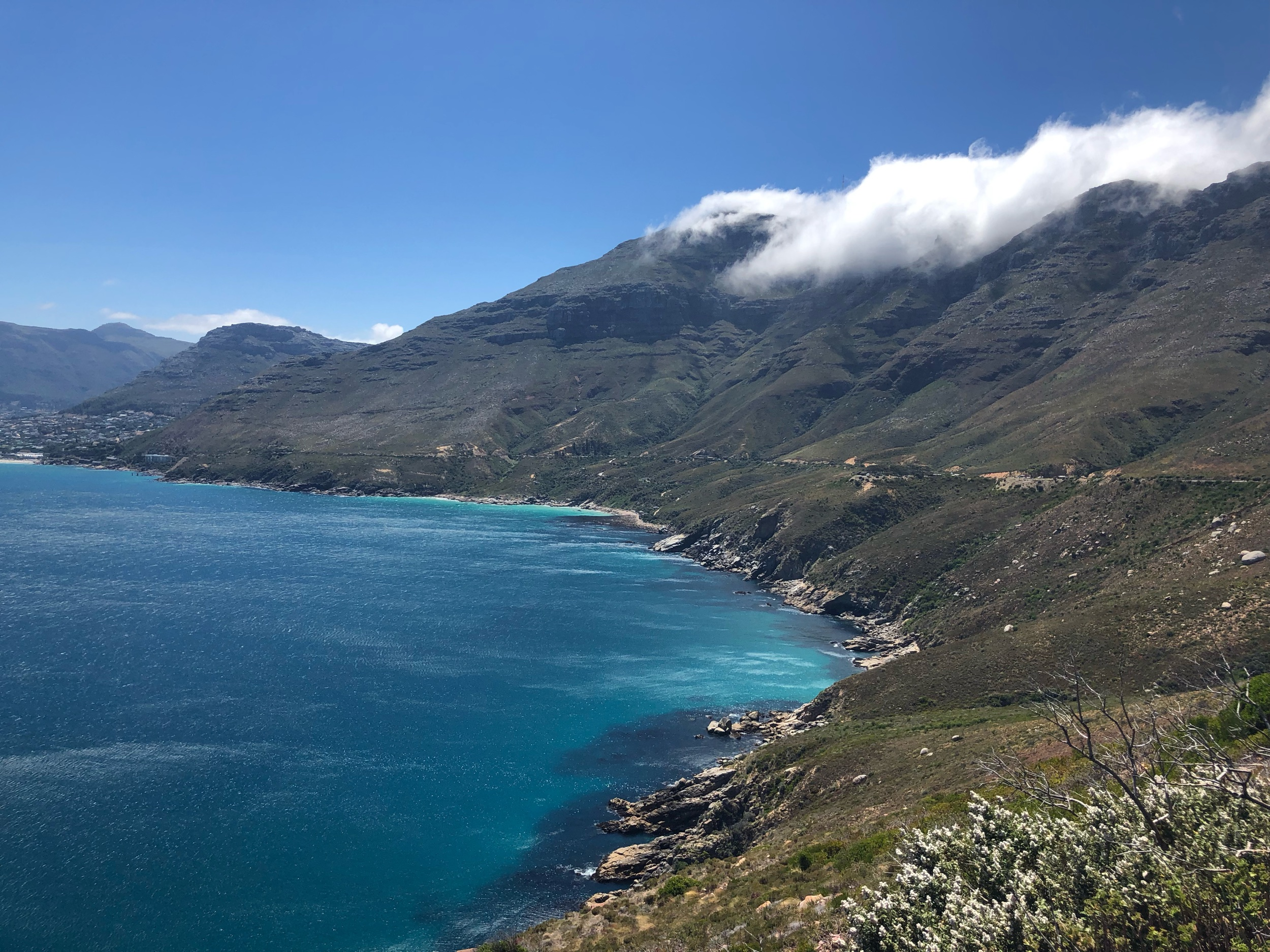 Chapman's Peak Drive View of the South African coastline