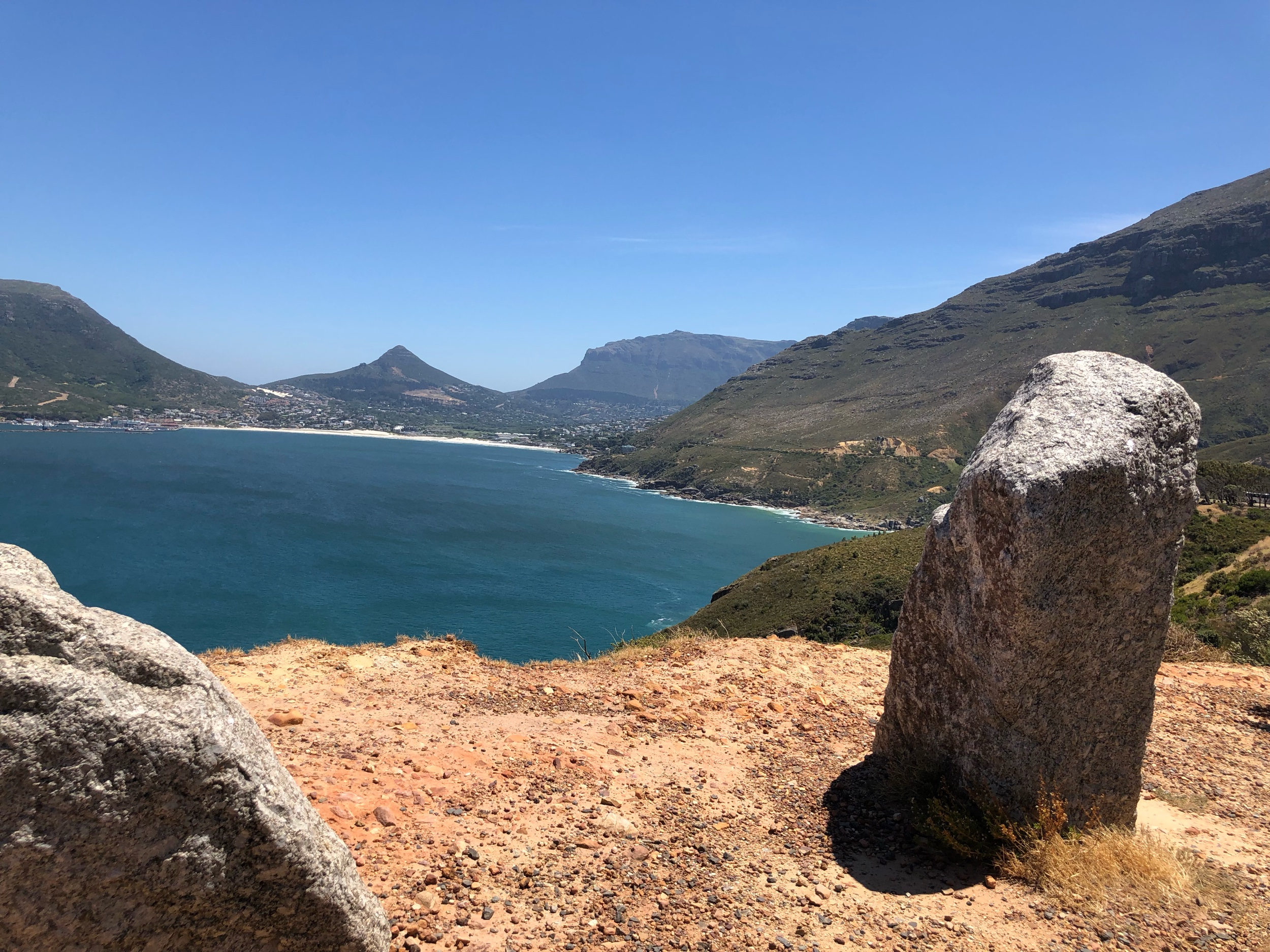 Chapman's Peak view of Hout Bay