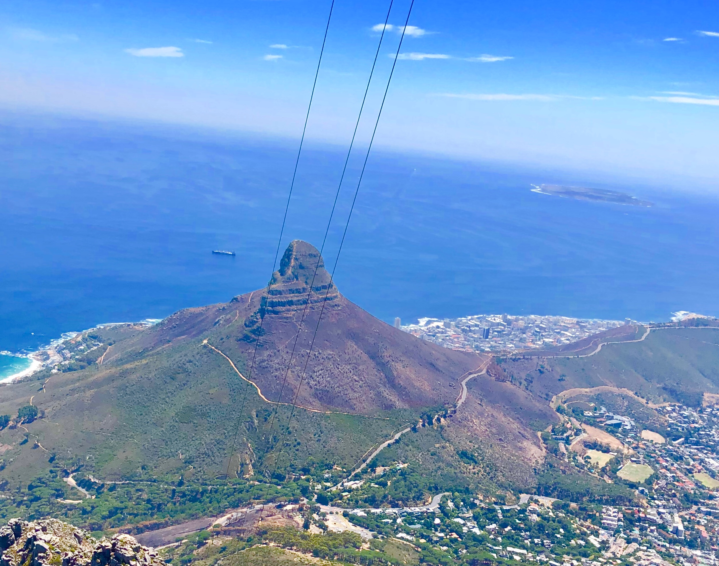 Lion's Head view from Table Top Cable Car