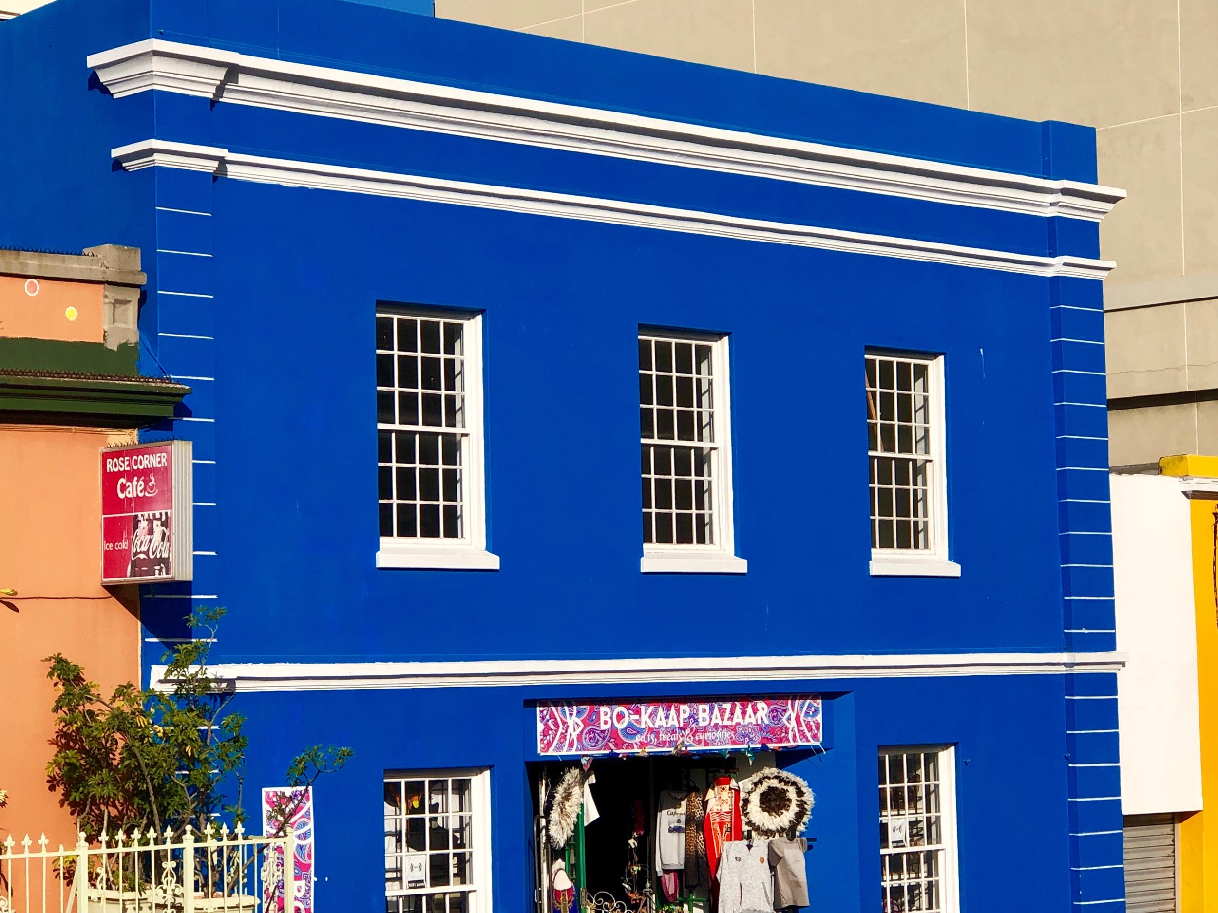 Bo-Kaap Building in Cape Town