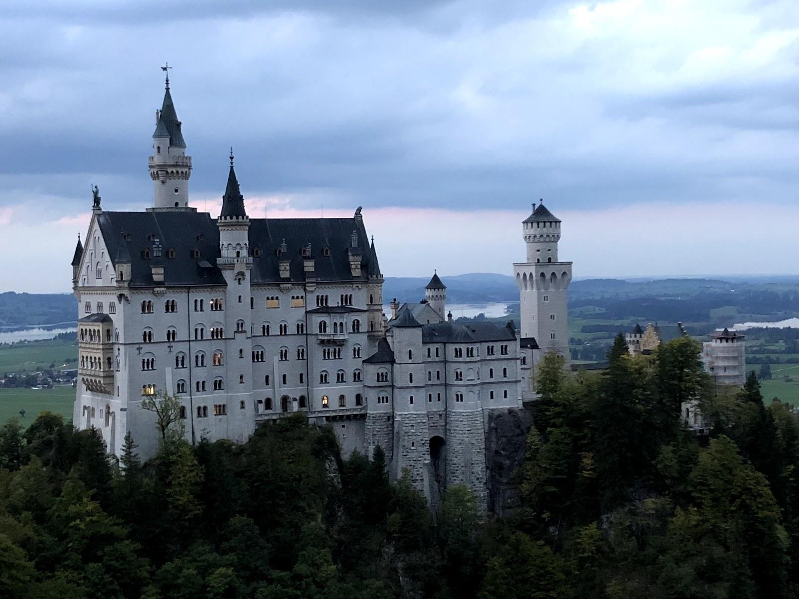 The castle that inspired Disney's Cinderella Castle - Neuschwanstein Castle