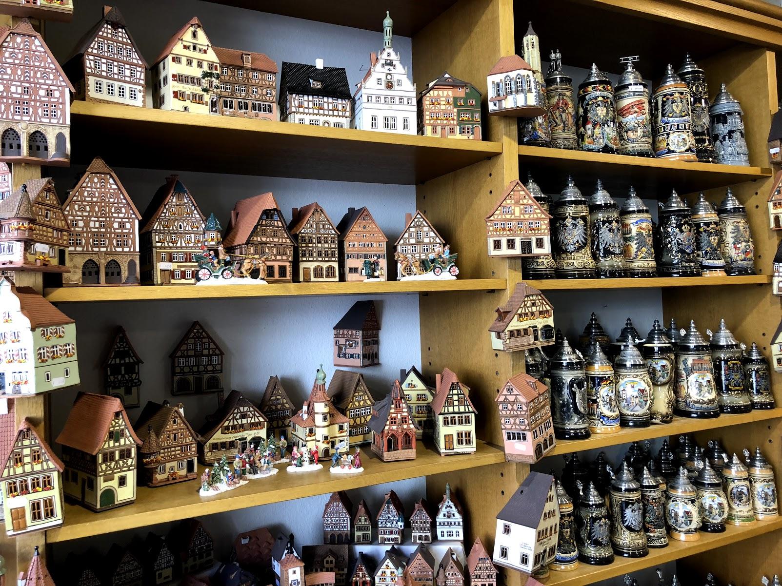 Rothenburg ob der Tauber souvenir shop