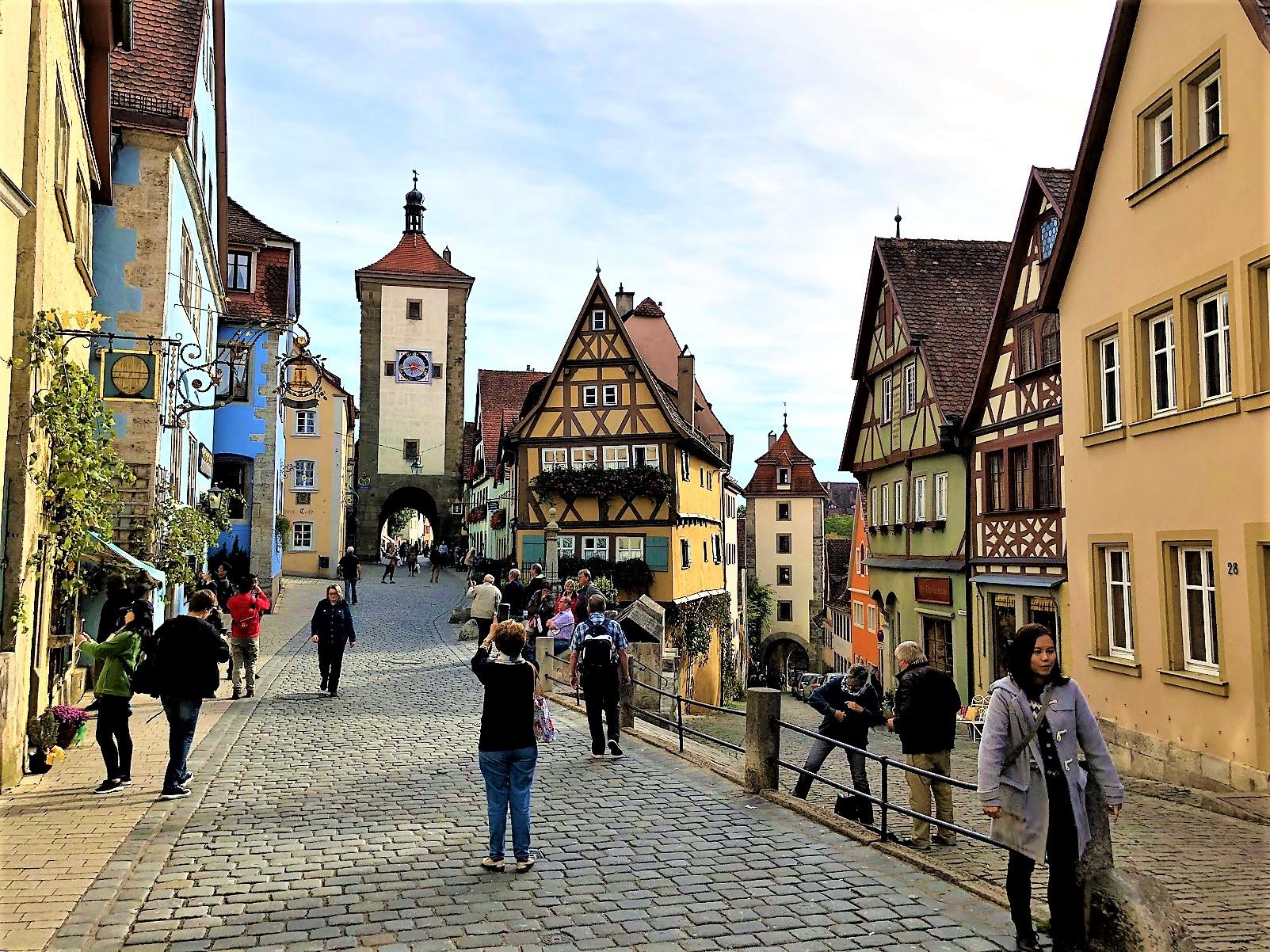 Rothenburg ob der Tauber, Germany street view