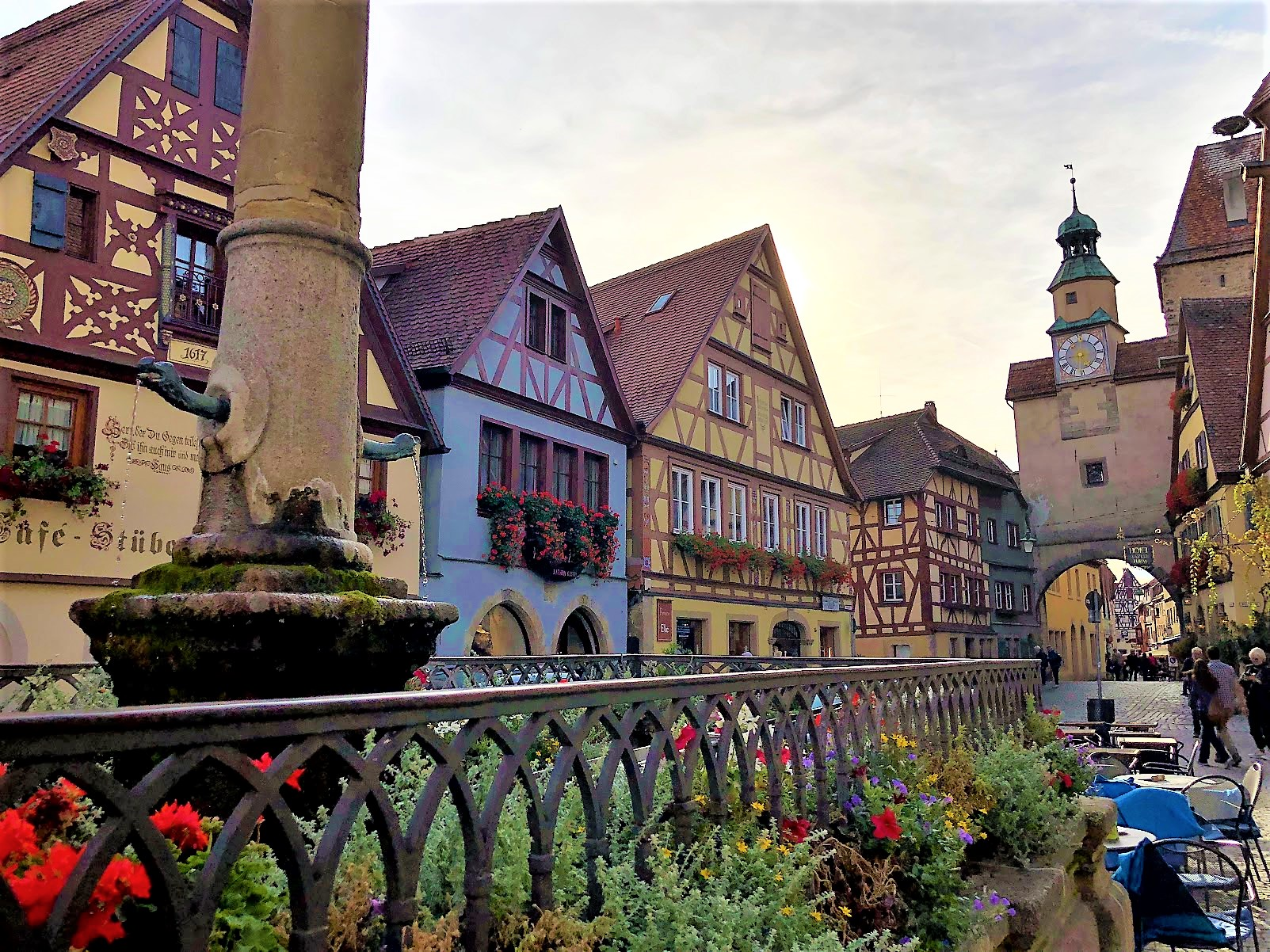 Rothenburg ob der Tauber, Germany fairy tale town