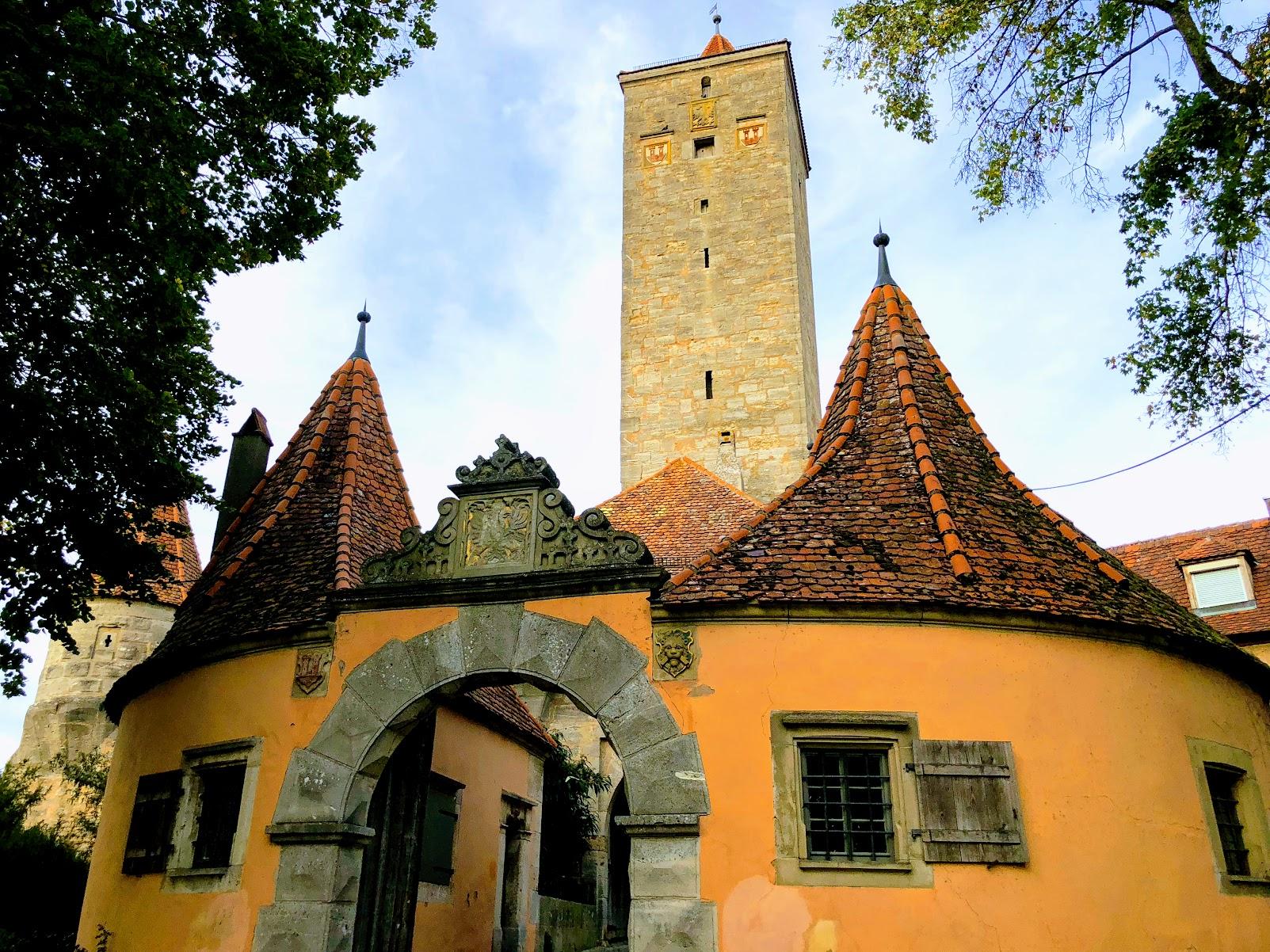 Rothenburg ob der Tauber, Germany town buildings